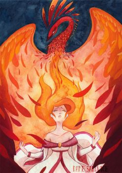 L'oiseau de Feu - the Firebird by Sandwichwithham