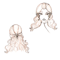 Imogen Hair and Face by HarliquinMoon