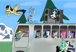 Trip to Everfree 2012 by Helsaabi