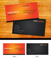 Total Simplicity Business Card by Swiftau