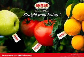 Ahmed Foods ad by creavity