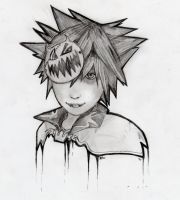 Halloween Town Sora by thezoemonster