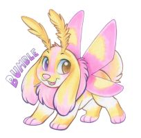Bumble Badge by Tigsie
