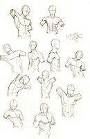 Male Torso Practice by magoleth