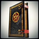 Large leather 'Book of Five Elements' ... by alexlibris999