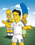 James Rodriguez Simpsons by edwheeler