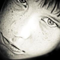 Freckle Face by TrulyGreatMadness