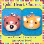 The first Chibi Puppy and Kitty Charms! by Gold-Heart-Charms