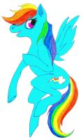 rainbow douche by awesome-pants