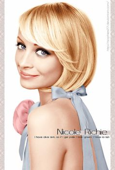 Colorize Nicole Richie by Sophies27