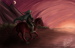 RA: Racing Against The Sunset by neodactylus