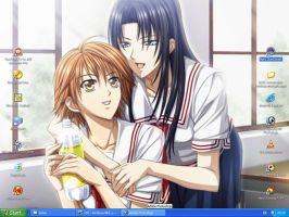 Skip Beat - Desktop 0.3 by Silver-Nightfox