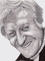 Jon Pertwee - Third Doctor unf by rhizin