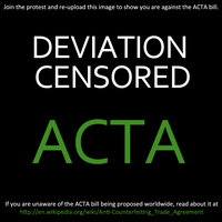 say NO to ACTA by SilberCorgi