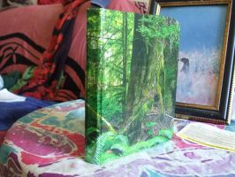 Forest hardcover notebook by nienor