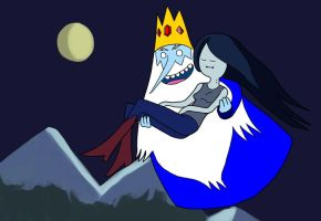 Ice King x Marceline by mayuzane