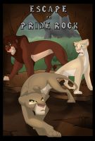 Escape To Pride Rock_Contest Entry by albinoraven666fanart