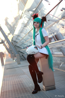Miku Hatsune - twilight princess atmosphere by Mizukishou