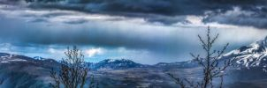 Volcano Approach - HDR Pano by stung1010koth