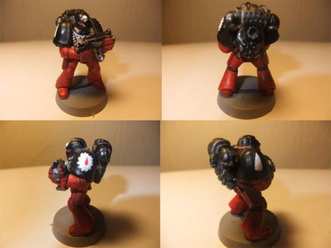 Flesh Tearer Space Marine by Adeptussolus