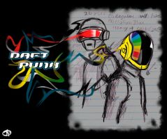 Daft Punk2 by sKeTcH-cRaZy