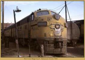 Worn Out Wagontop II by classictrains