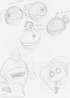 Extreme Sketch Dumping Part 1 by Piranha2021