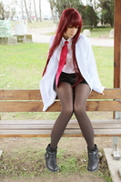 Steins Gate: Makise Kurisu cosplay 2 by SnowHaze