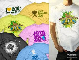 Joya Grande Zoo t-shirt by EAMejia