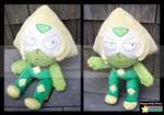 Peridot Plush Commission 2 by QueenBeePlush