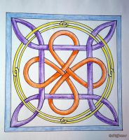 Celtic Knot 1 by caillteone