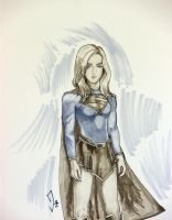 Supergirl Copic by JerrySpringArt