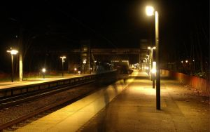 Station Alone Widescreen by 0ls