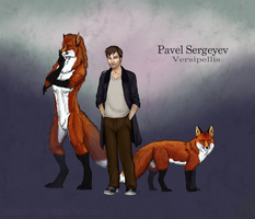 Ref sheet: Pavel Sergeyev by TeknicolorTiger