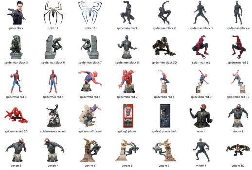 Spider-Man 3 Icons by markdelete