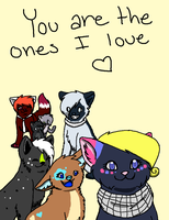 You Are the Ones I Love by Kiji-blu