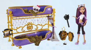 MH Dead Tired Clawdeen and bed by mh-maria