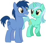 Lyra and Noteworthy by Leapingriver