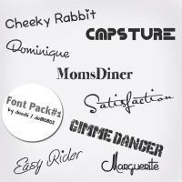 Font Pack #1 by do180802