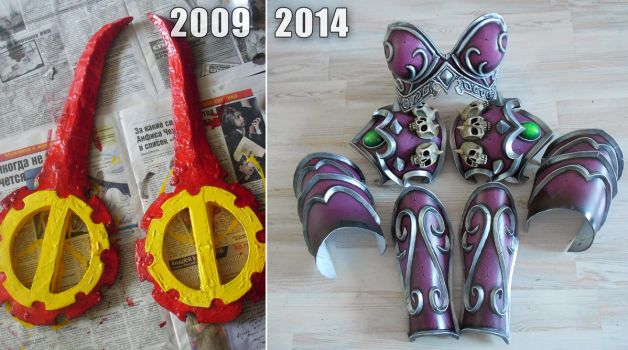 Cosplay = Never give up by Narga-Lifestream