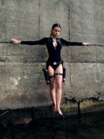Lara Croft wetsuit - Above the water by TanyaCroft