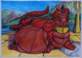 Targon in fat by SSsilver-c