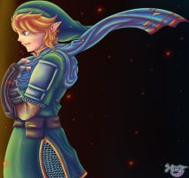 Hyrule Warriors Linketh by Ugh-first-aid