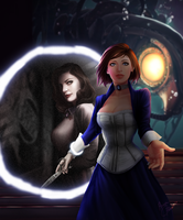 Bioshock Infinite by abbottcreations