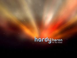 Hardy Heron For The Masses by monsteer