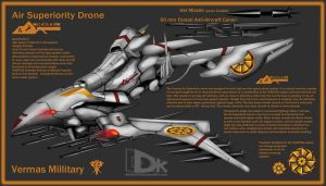 Vermas Air Superiority Drone by DKDevil