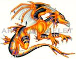 Tropical Water Dragon Entry by Magelet