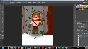 Teemo Fan-Art (work in progess) by Someliar