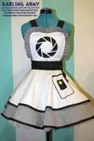 GLaDOS -Portal- Cosplay Pinafore by DarlingArmy