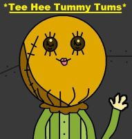 tee hee tummy tums by flap2chowder